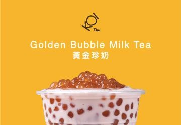 KOI Thé Golden Bubble Milk Tea