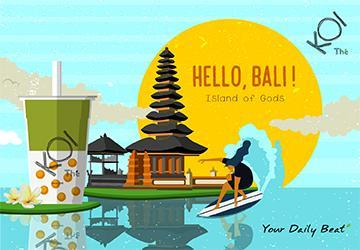 Welcome to the Bali paradise with us today!
