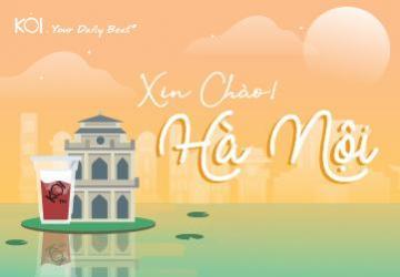 帶上KOI一起欣賞河内的特色風景吧!