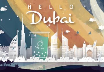 Dubai : Follow KOI to witness Dubai's desert miracles and luxurious aesthetics!